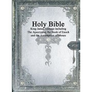 Holy Bible: King James Version with the Apocrypha, the Book of Enoch and the Assumption of Moses, Paperback/Various