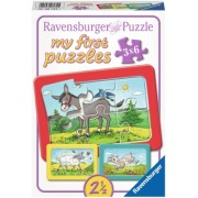 Puzzle Animale, 3X6 Piese Ravensburger