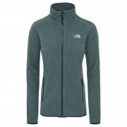 The North Face Women's 100 Glacier Full Zip Grön
