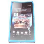 Силиконов гръб ТПУ за Sony Xperia acro S LT26w Син