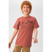 Mango Kids - Tricou copii Guepardo 110-164 cm