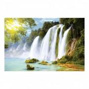 Fototapet vlies Cascada pe Amazon (Dimensiune ( L x H): 336 x 225 cm)