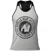 Gorilla Wear Roswell Tank Top - Gray/Black - M