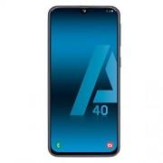 Samsung Galaxy A40 mobiele telefoon zwart 4G Dual SIM 15 cm (5.9 inch) super amoled Fhd+ / 8 core / 64 GB / 4 GB Ram / 16 mp + 5 mp / 25 mp