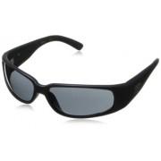 Black Flys Wrap Sunglasses,Matte Black,60 mm