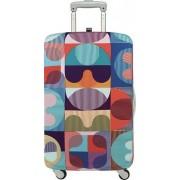 Pokrowiec na walizkę LOQI Hvass&Hannibal Grid
