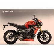 Yamaha MT09 / FZ09 (13-16) Belly Pan / Spoiler: Gloss Black 22132B