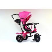 Tricikl Playtime sa rotirajucim sedištem (Model 408 LUX roze)