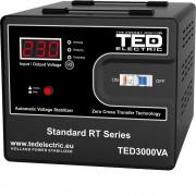 Stabilizator de retea maxim 3000VA / 1800W Ted 3000 (TED ELECTRIC)