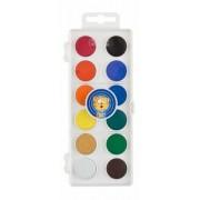 Vízfesték, 12 darabos, 22,5 mm, ICO Creative Kids (TICF225)