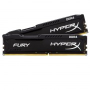 8GB DDR4 2400MHz Kit(2x4GB) HyperX Fury Black Series (HX424C15FBK2/8)