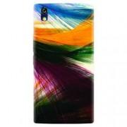 Husa silicon pentru Allview X2 Soul Style Colorful Peacock Feathers