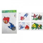 stickere decorative A3 Angry Birds Rio
