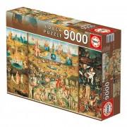 Puzzle 9000 Peças Jardim das Delícias