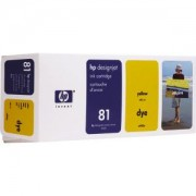 HP 81 ( C4933A ) Касета цветна, 680 ml. (HP DesignJet 5000 or 5000PS printers), Yellow