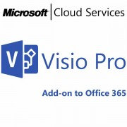 MICROSOFT Visio Professional, Business, VL Subs., Windows, All Languages, 1 license, 1 month R9Z-00004
