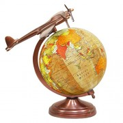Globe - Unique decorative antique World globe - Map Of the World - Hand Made Globe - World Globe 8 inch - Perfect Globes for Students and Kids - Large Size Political Globe - Decorative Gift item for Home and Office - Gifts for boss- Travel Gifts -Map of t