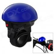 UFO estilo Super ruidoso bicicleta Bell electronico - azul + negro (2 x LR1)