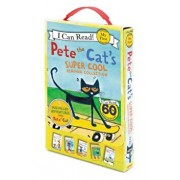 Pete the Cat's Super Cool Reading Collection: Too Cool for School/Play Ball!/Pete at the Beach/Pete's Big Lunch/A Pet for Pete, Paperback/James Dean