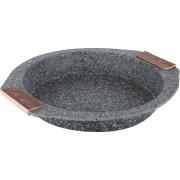 Plech kulatý s mramorovým povrchem Steinfurt 23 cm