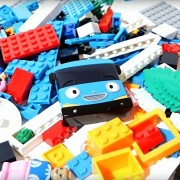 New Tayo Little Bus Toys Compatible With LEGO Block / Block Play Set 118pcs Building Toys boy girl kids craft Stacking Blocks Korean Animation The Little Bus TAYO Character