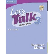 Lets Talk Level 3 Teachers Manual avec audio CD par Jones & Leo
