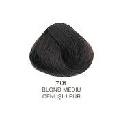Vopsea Permanenta Evolution of the Color Alfaparf Milano - Blond Mediu Cenusiu Pur Nr 7.01