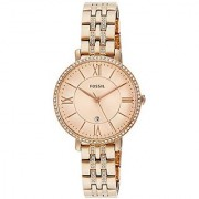 Fossil Jacqueline Analog Gold Dial Womens Watch - ES3546I