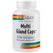 MULTI GLAND CAPs FOR WOMEN - pentru imbunatatirea starii generale de sanatate a organismului feminin