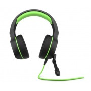 HEADPHONES, HP Pavilion 400, Gaming, Microphone, Black/Green (4BX31AA)