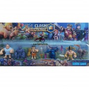Clash Royale - Set 6 figuras personajes incluye PEKKA