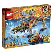 Lego Legends Of Chima 70227 King Crominus Rescue Building Kit
