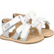 Sandale Baietei Bibi Afeto Albe/Gri 19 EU