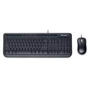 Kit teclado y mouse Microsoft desktop 600 USB, APB-00004
