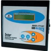 Fázisjavító automatika, egyfázisú, 7 kondenzátor telephez - 144x144mm TFJA-01 - Tracon