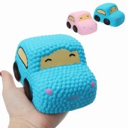Squishy Car Racer Cake Soft Slow Rising Toy Scented Squeeze Bread