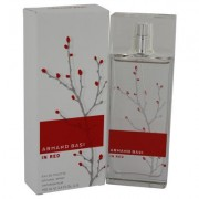 Armand Basi In Red For Women By Armand Basi Eau De Toilette Spray 3.4 Oz