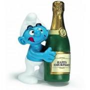 Schleich Bottle Smurf Figure