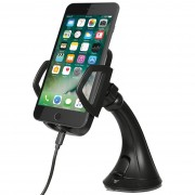 Qi Wireless Charging Car Mount Holder - Apple iPhone 7 Plus / 6s Plus