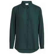 Vila Dámská košile VILUCY L/S BUTTON SHIRT - NOOS Pine Grove S