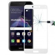 Huawei P8 Lite (2017) 0.26mm 9H Surface Hardness Explosion-proof Full Screen Tempered Glass Screen Film (White)