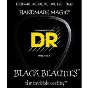 DR Strings BKB5-40 Beauty 5 String Bass 40-120 Black