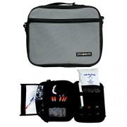 ChillMED Premier Diabetic Travel Bag with Shoulder Strap & One 24 oz Cold Pack for 24 Hours Cold Time