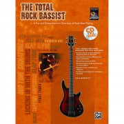 Alfred Music The Total Rock Bassist Book and CD