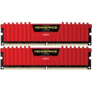Kit Memorie Corsair Vengeance LPX 2x16GB DDR4 3200MHz CL16 Red