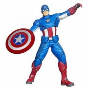 Captain America Marvel Super Hero Legends 12 Inch (30 CM) Action Figure Toy with LED light Sound