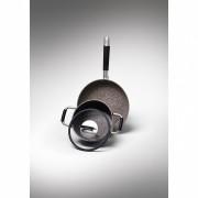 Cratita inalta, cu particule minerale si manere, diametru 24 cm, Gran Gourmet