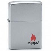 ZIPPO Logo - benzínový zapalovač matný