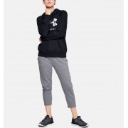 Under Armour Women's UA Rival Fleece Sportstyle Graphic Hoodie Black MD