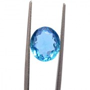 3.25 Ratti High quality Topaz stone Blue topaz Lab Certified